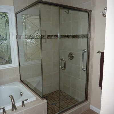 Custom shower remodel 13