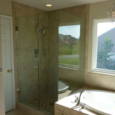 Custom shower remodel 14