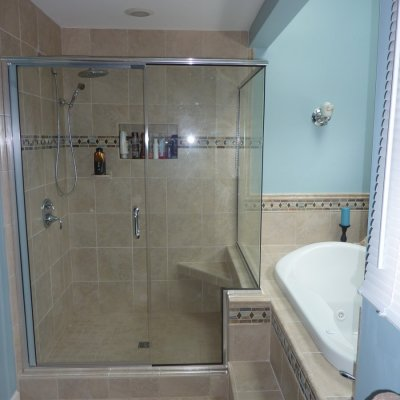 Custom shower remodel 3