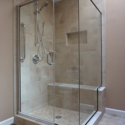 Custom shower remodel 7