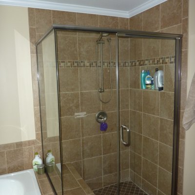 Custom shower remodel 8